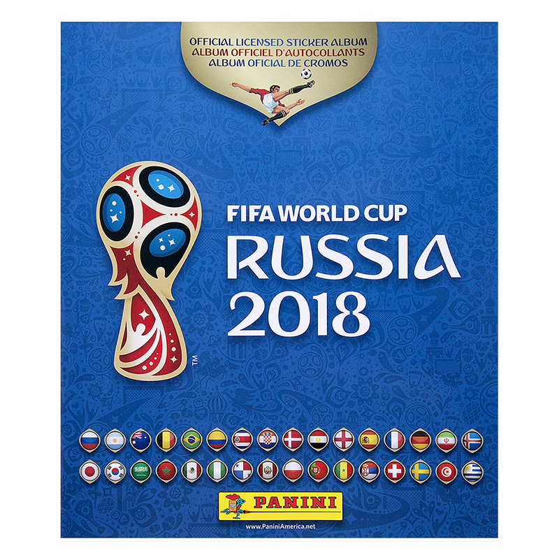 2018 Fifa World Cup Soccer Album - 80pg