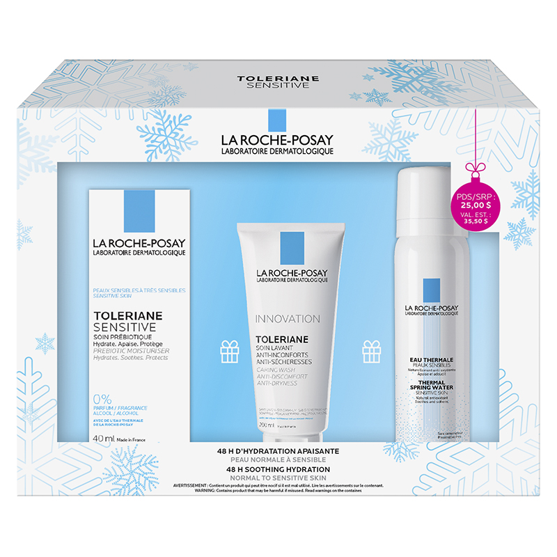 La Roche-Posay Toleriane Sensitive Kit - 3 piece