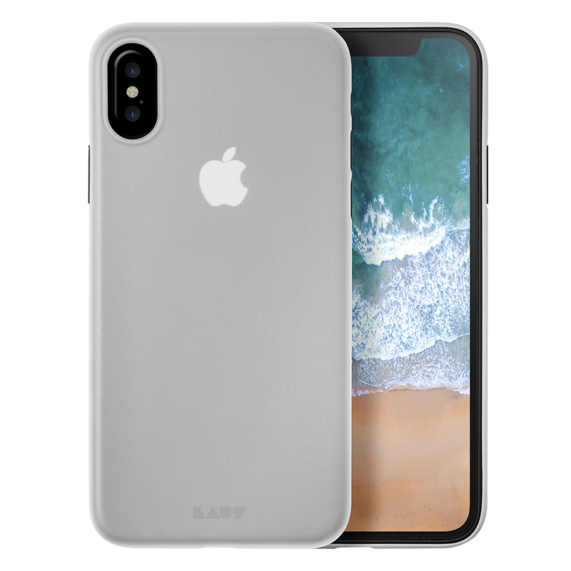 LAUT SLIMSKIN Case for iPhone X - Clear - LAUTIP8SSC