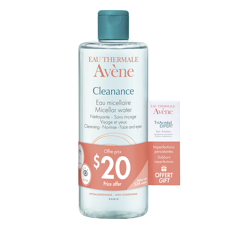 Avene Cleanance Micellar Water Set