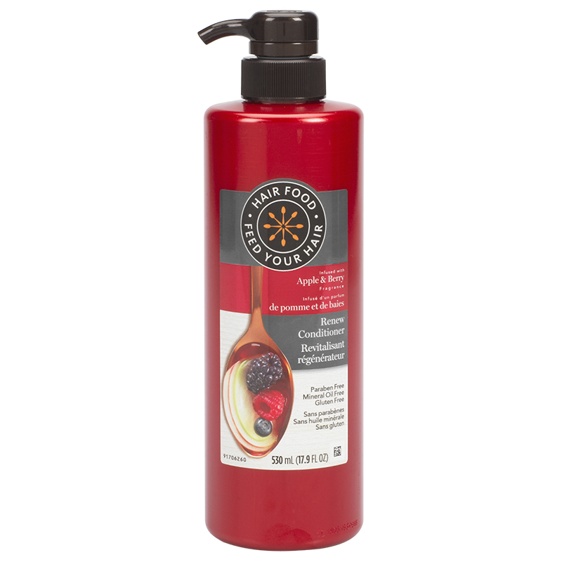 Hair Food Renew Conditioner - Apple & Berry - 530ml