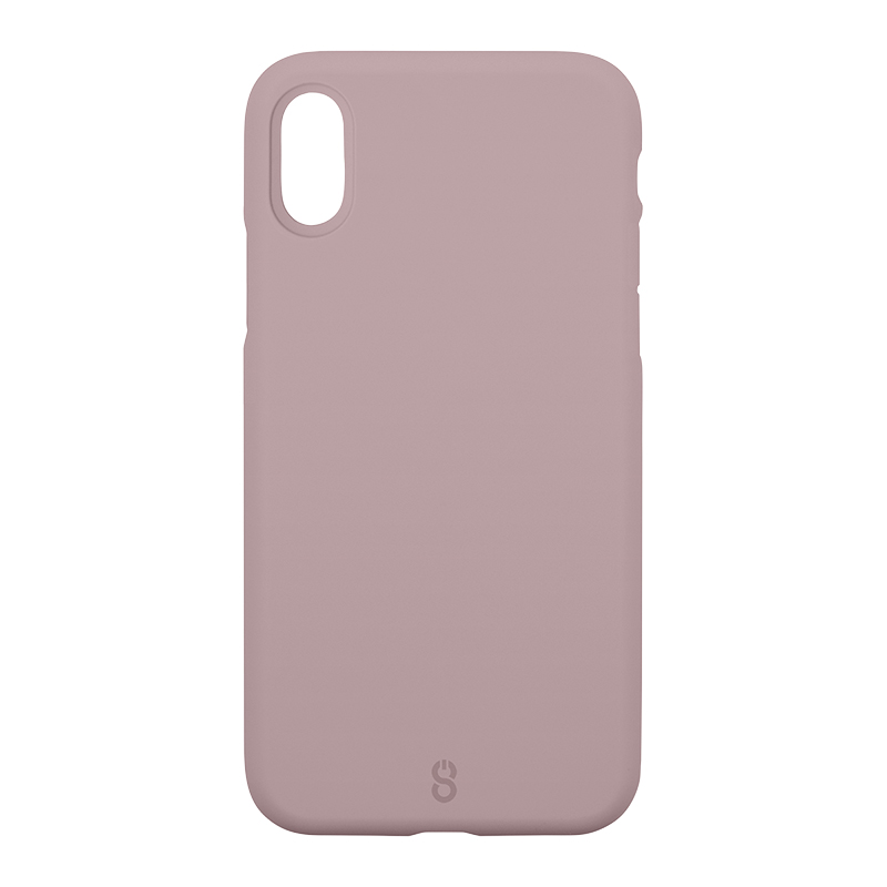Logiix Colour Shield Case for iPhone X - Mauve - LGX12716