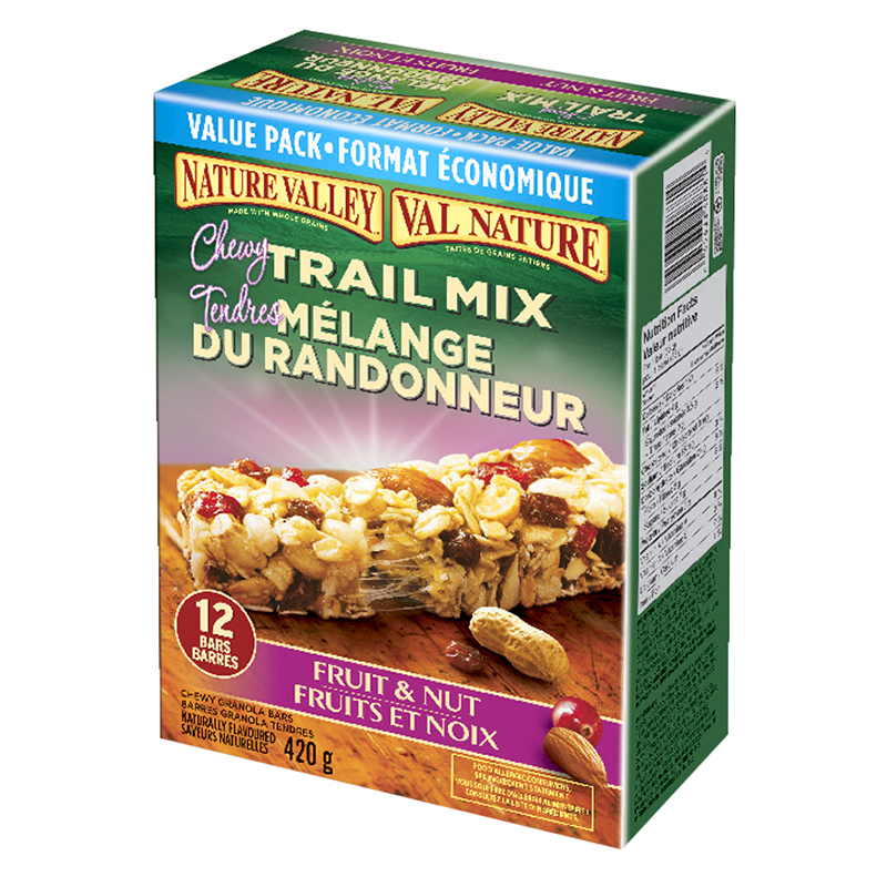 Nature Valley Chewy Granola Bars - Fruit & Nut - 12 pack