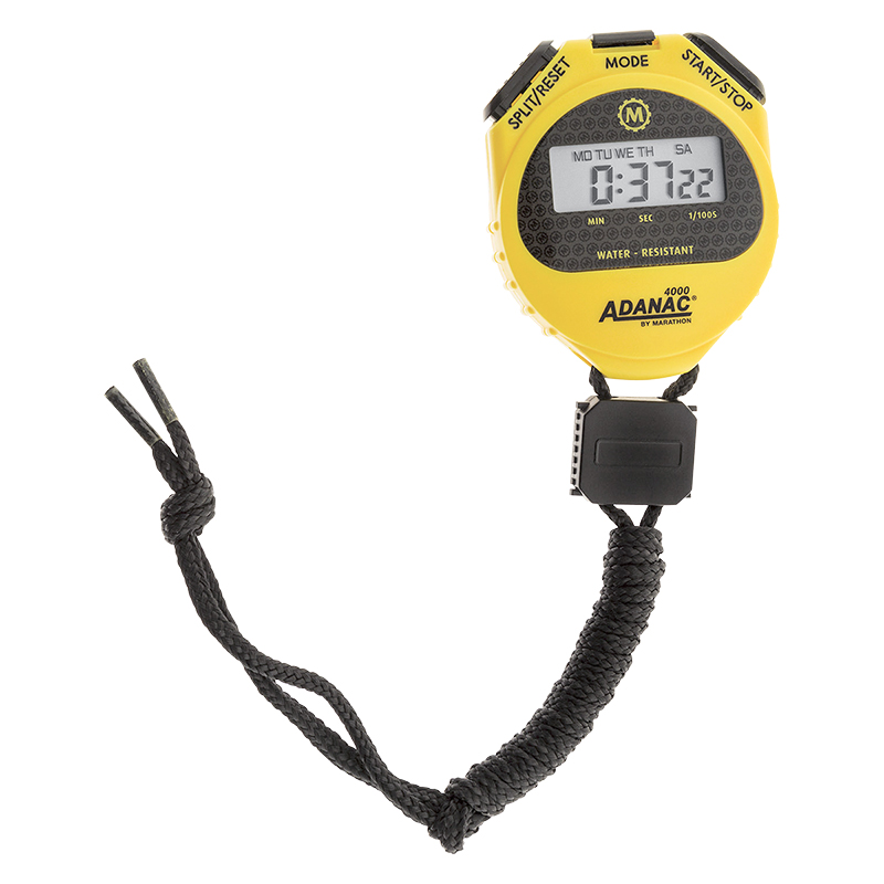 Marathon Digital Stopwatch - Yellow - ST083009YE