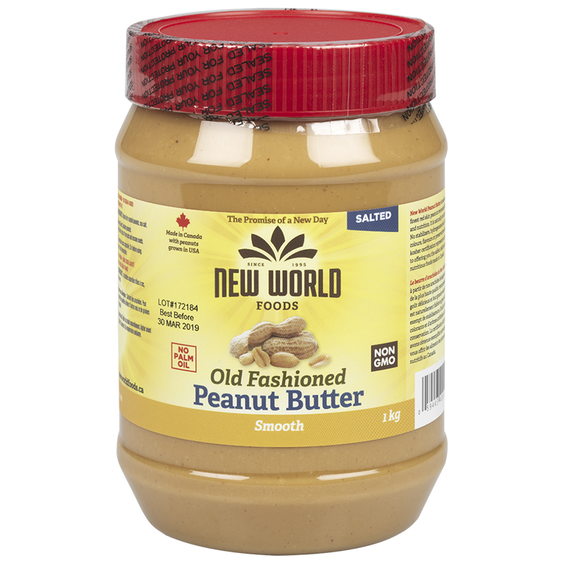 New World Peanut Butter - Smooth - 1kg