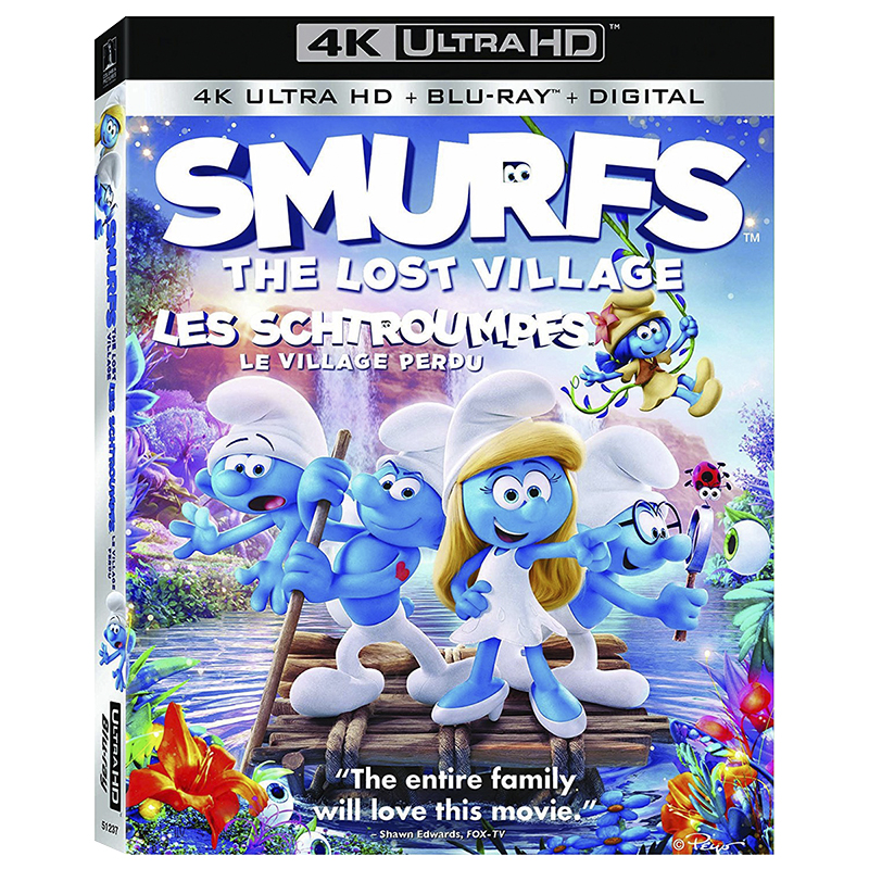 Smurfs: The Lost Village - 4K UHD Blu-ray