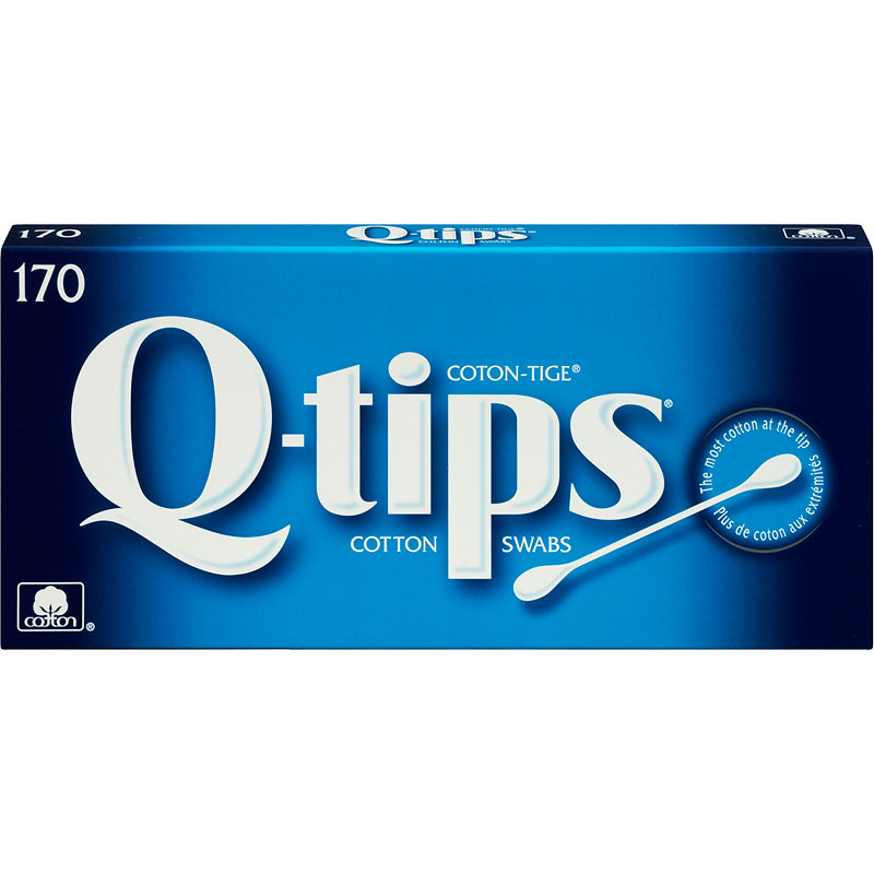 Q-Tips Cotton Swabs - 170's
