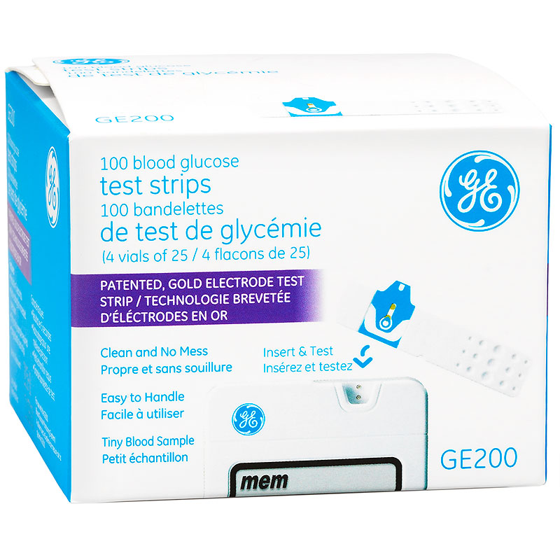 GE200 Test Strips - 100's