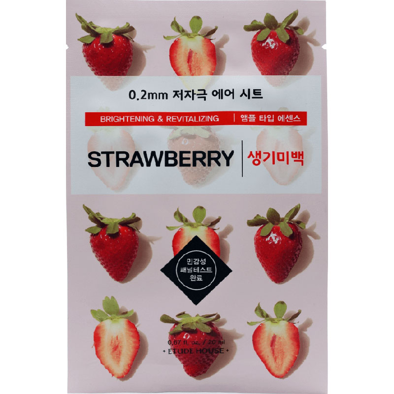 Etude House Mask - Strawberry - 20ml
