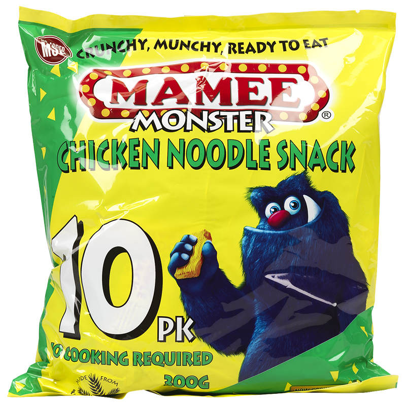 Mamee Monster Noodle Snack - Chicken - 300g