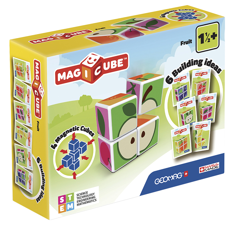Geomag Magicube Fruit - 4 Piece
