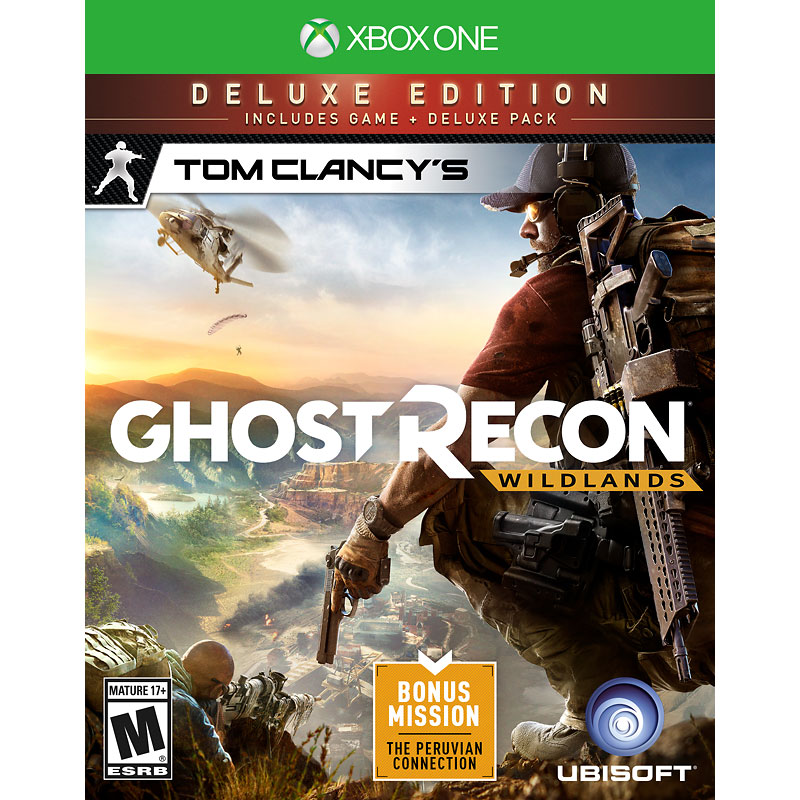 XBOX One Tom Clancys Ghost Recon Wildlands - Deluxe Edition