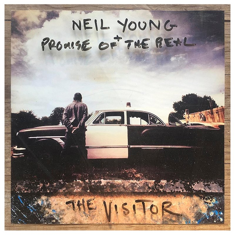 Neil Young and Promise of the Real - The Visitor - CD