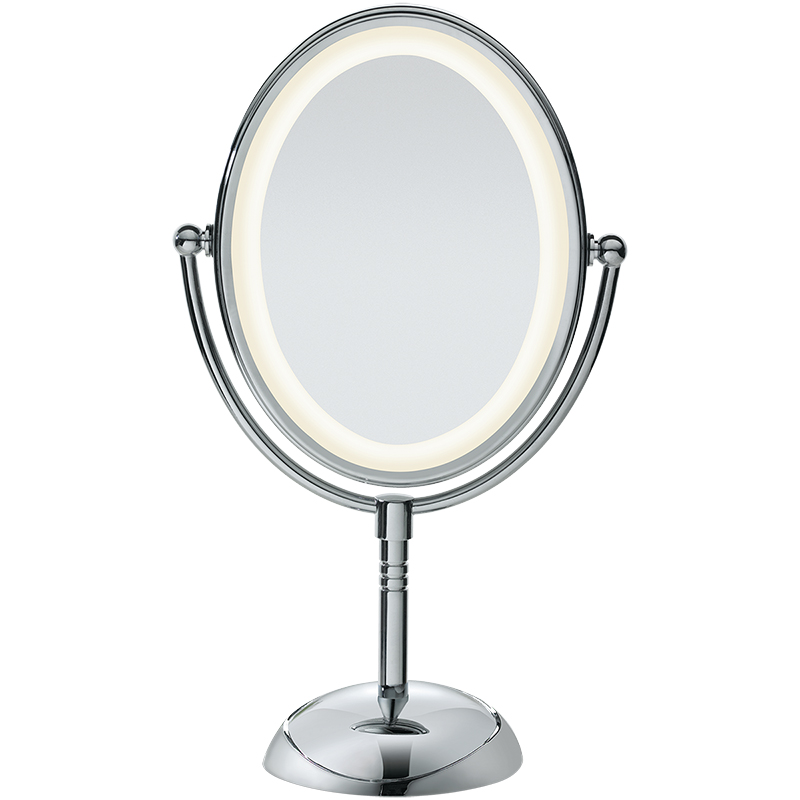 True Glow Oval LED Mirror - 7x