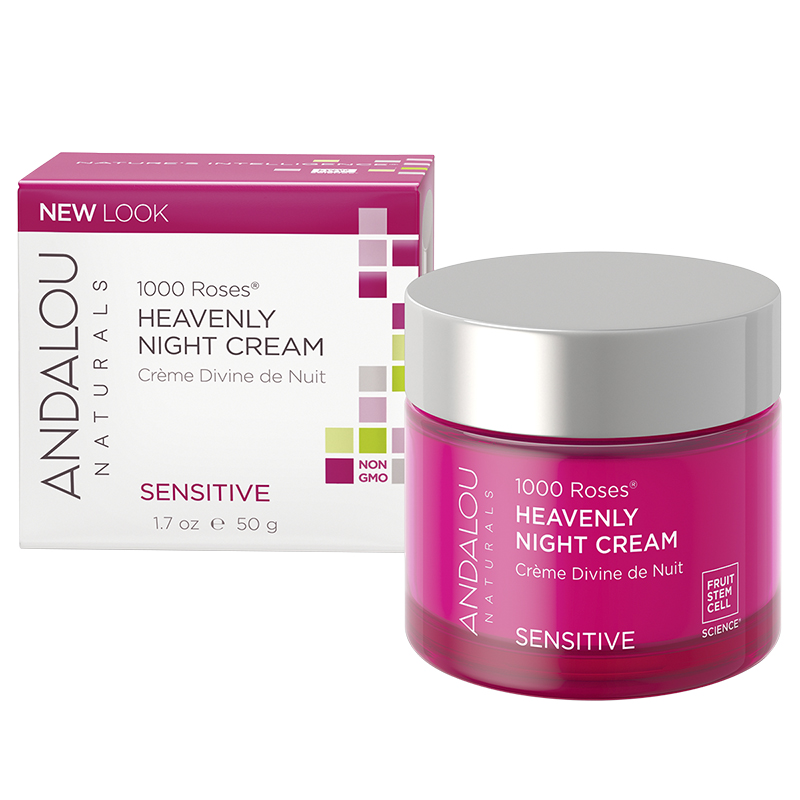 Andalou Naturals 1000 Roses Heavenly Night Cream - 50ml