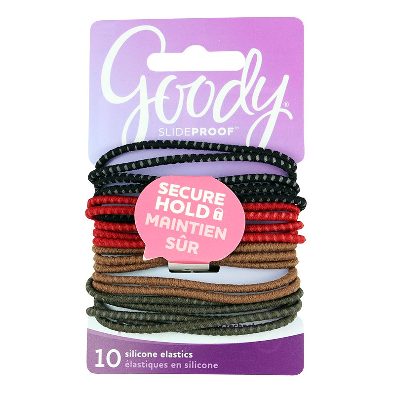 Goody SlideProof Secure Fit Elastics - 2.8mm - 20's