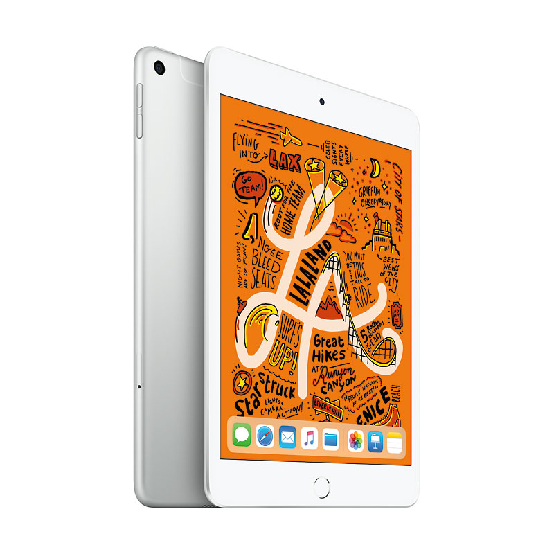 Apple iPad mini Cellular - 7.9 - 256GB - Silver - MUXN2VC/A