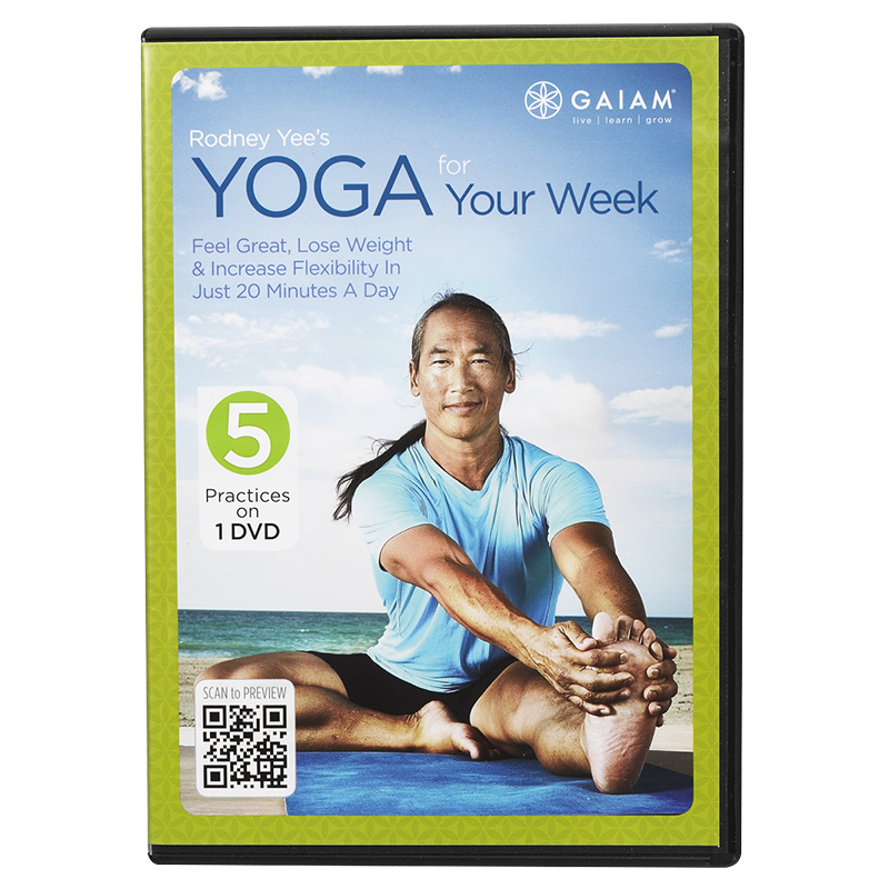 Gaiam - Rodney Yee's Yoga for Your Week - DVD