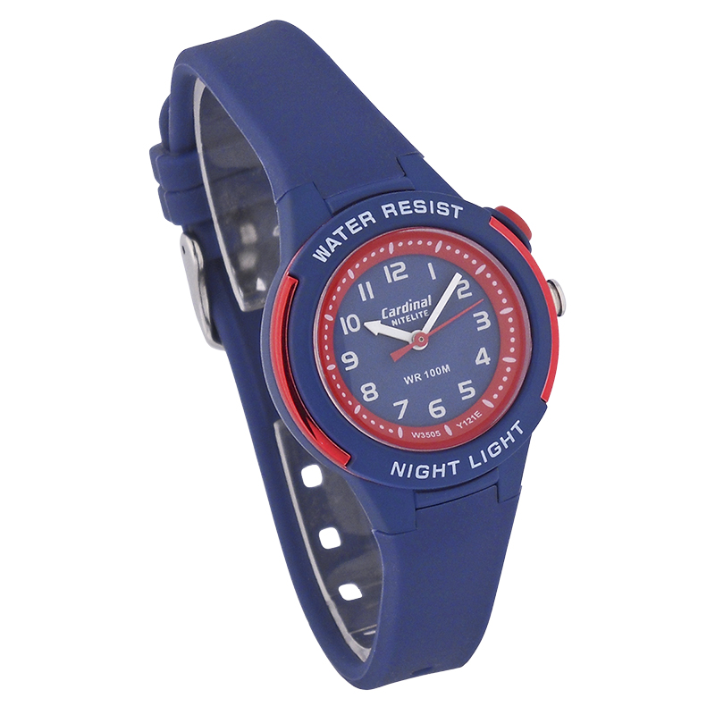 Cardinal Ladies Sport Watch - Blue/Red - 3505