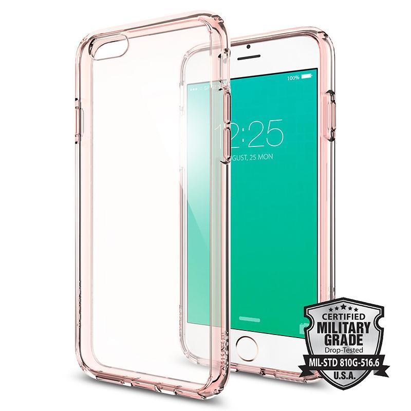 check out 931c5 f4078 Spigen Ultra Hybrid for iPhone 6/6s - Rose Crystal - SGP11722