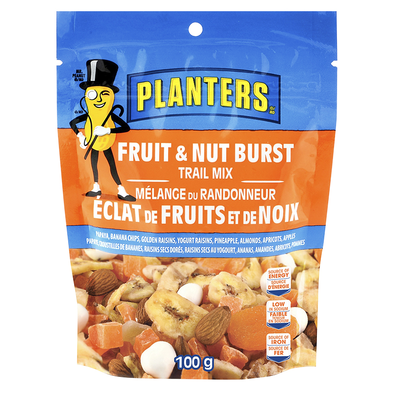 Planters Trail Mix - Fruit and Nut Burst - 100g