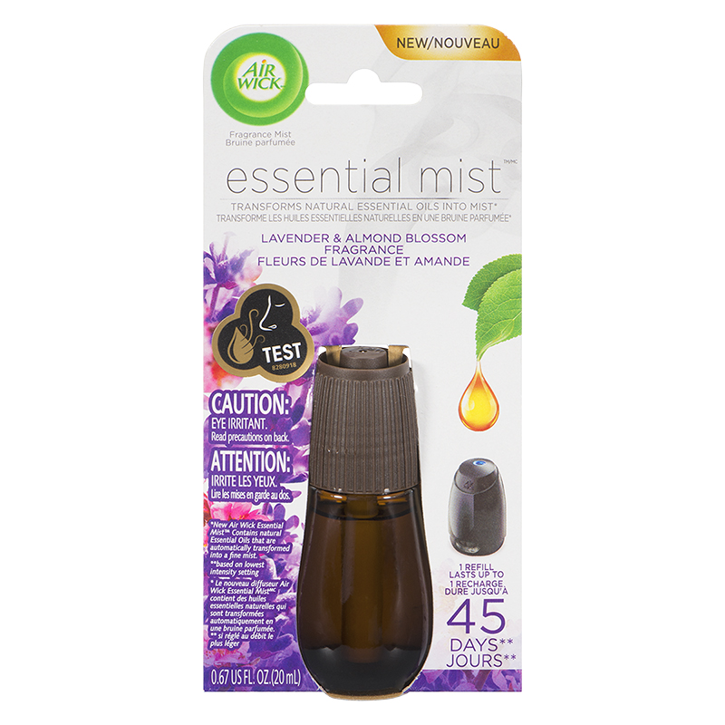 Air Wick Essential Mist Diffuser Fragrance Refill - Lavender Almond Blossom - 20ml