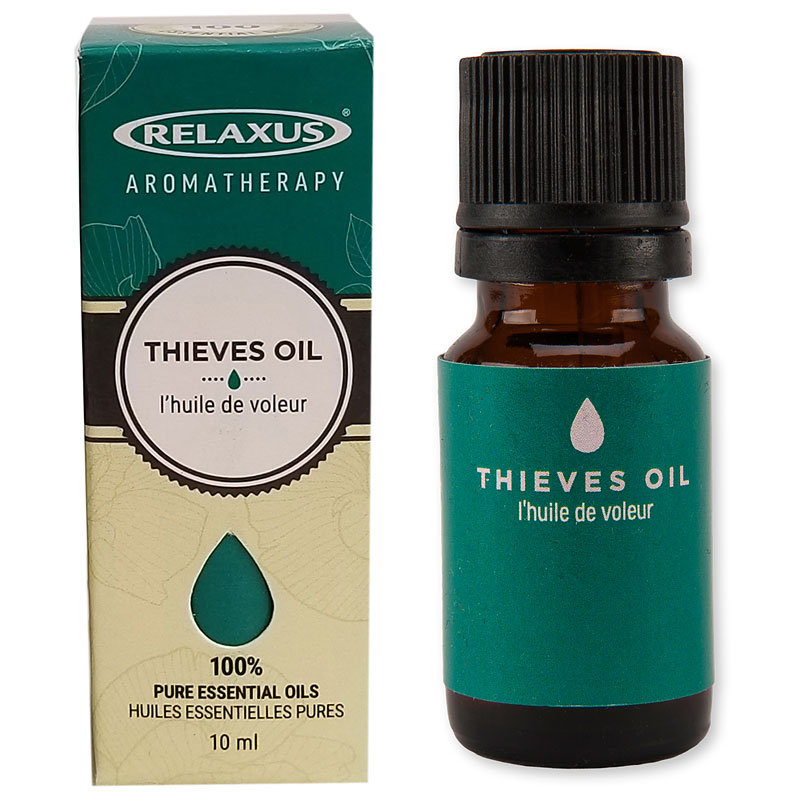 Relaxus Aromatherapy 100% Pure Essential Oil - Thieves Oil - 04136