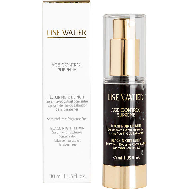 Lise Watier Age Control Supreme Black Night Elixir - 30ml