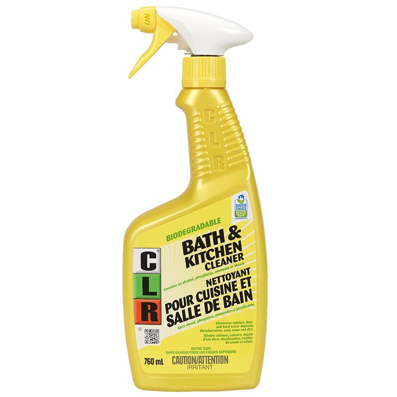 Clr Bathroom Kitchen Cleaner 760ml