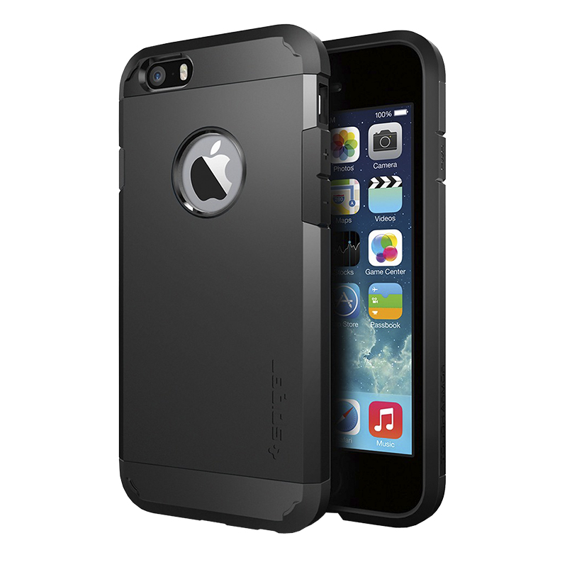 Spigen Tough Armor Case for iPhone 6 - Black - SGP10968