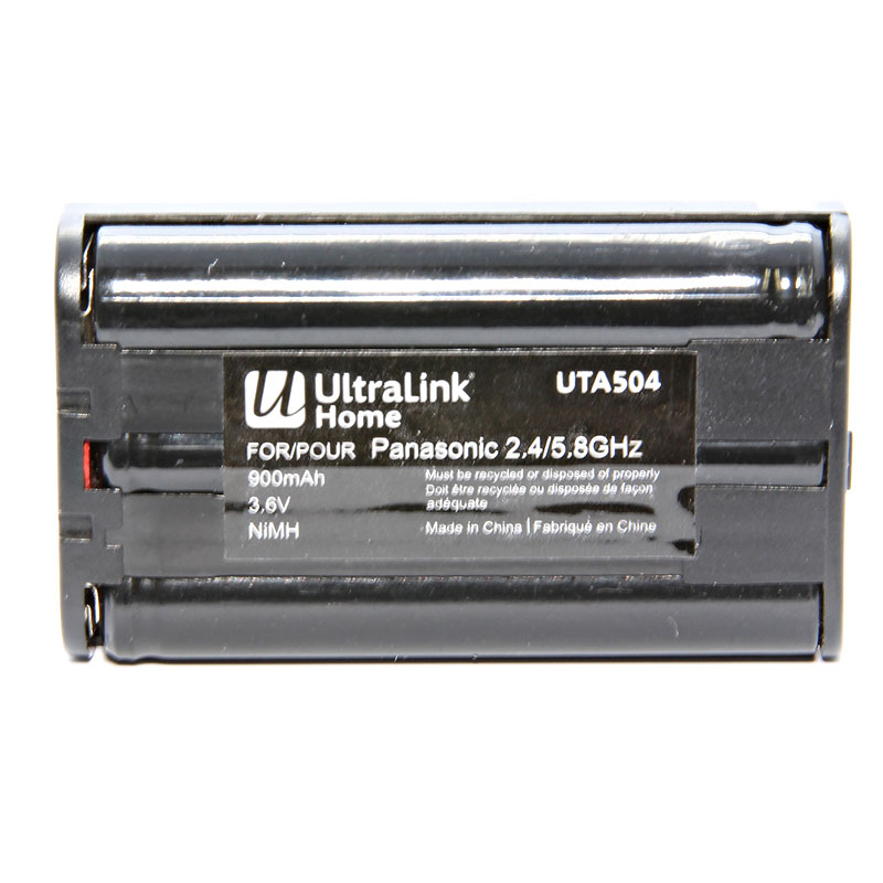UltraLink Cordless Phone Battery for Panasonic 2.4/5.8GHz- UTA504