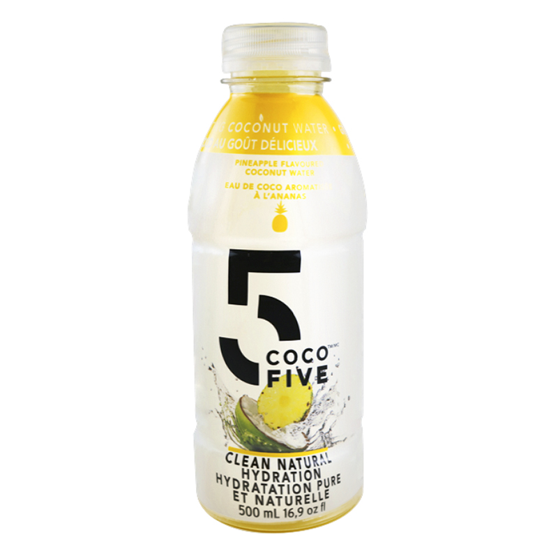 COCO5 Coconut Water - Pineapple - 500ml
