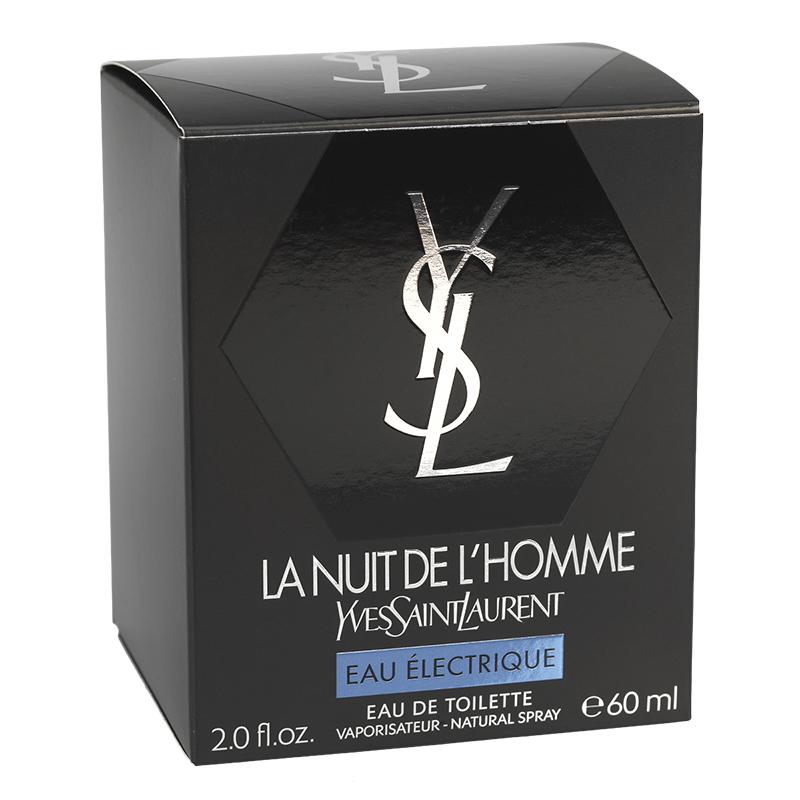 Nuit Saint Laurent Toilette L'homme La De Electrique Eau Yves 60ml hCdQrtsx
