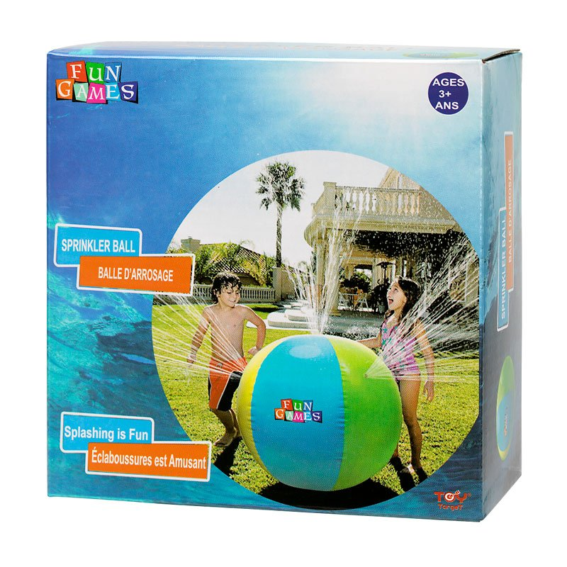 Blow Up Water Sprinkler - Ball