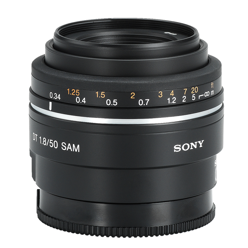 Sony 50mm f/1.8 SAM Telephoto Lens - SAL50F18 - Open Box Display Model