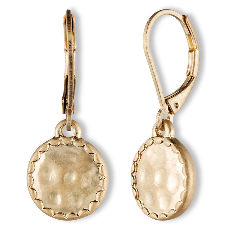 Lonna & Lilly Small Pendant Drop Earrings