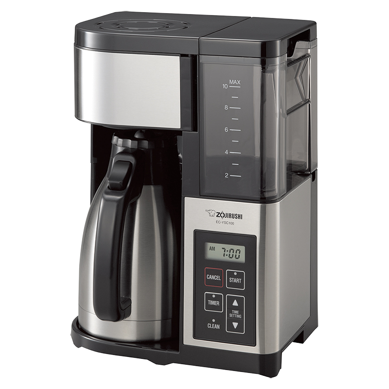 Zojirushi 10 cups Coffee Maker - Black - EC-YSC100