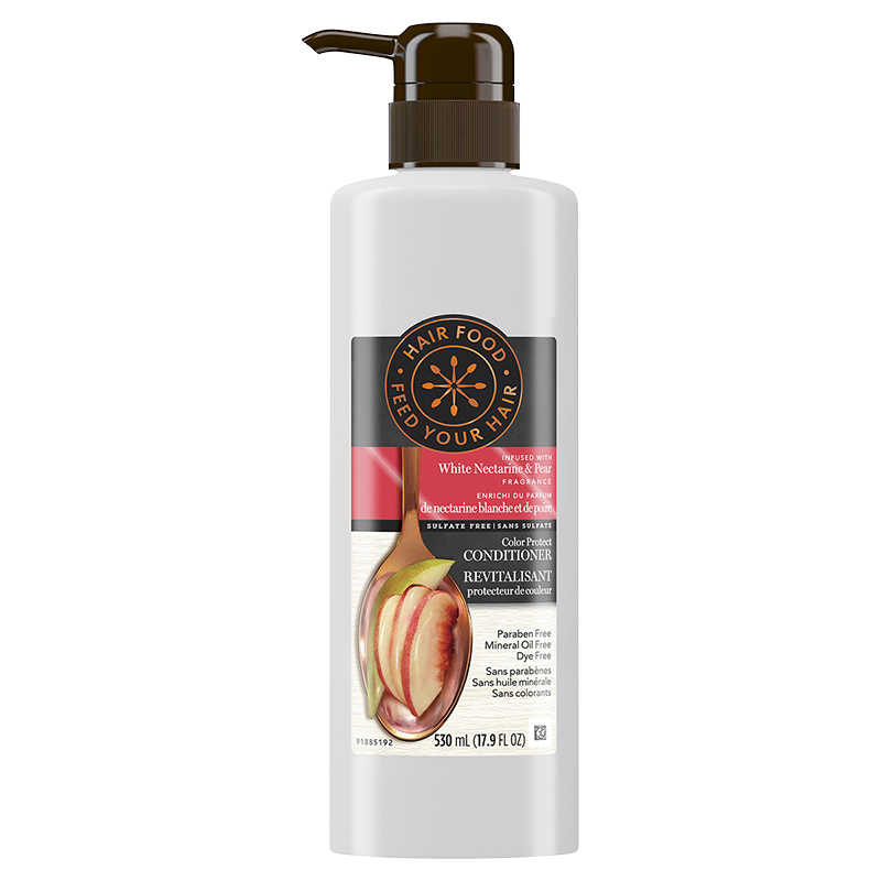 Hair Food Color Protect Conditioner - White Nectarine & Pear - 530ml