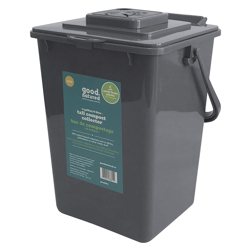 Tall Compost Collector - 8L
