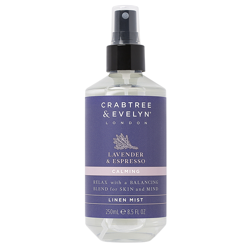 Crabtree & Evelyn Lavender & Espresso Calming Linen Mist - 250ml