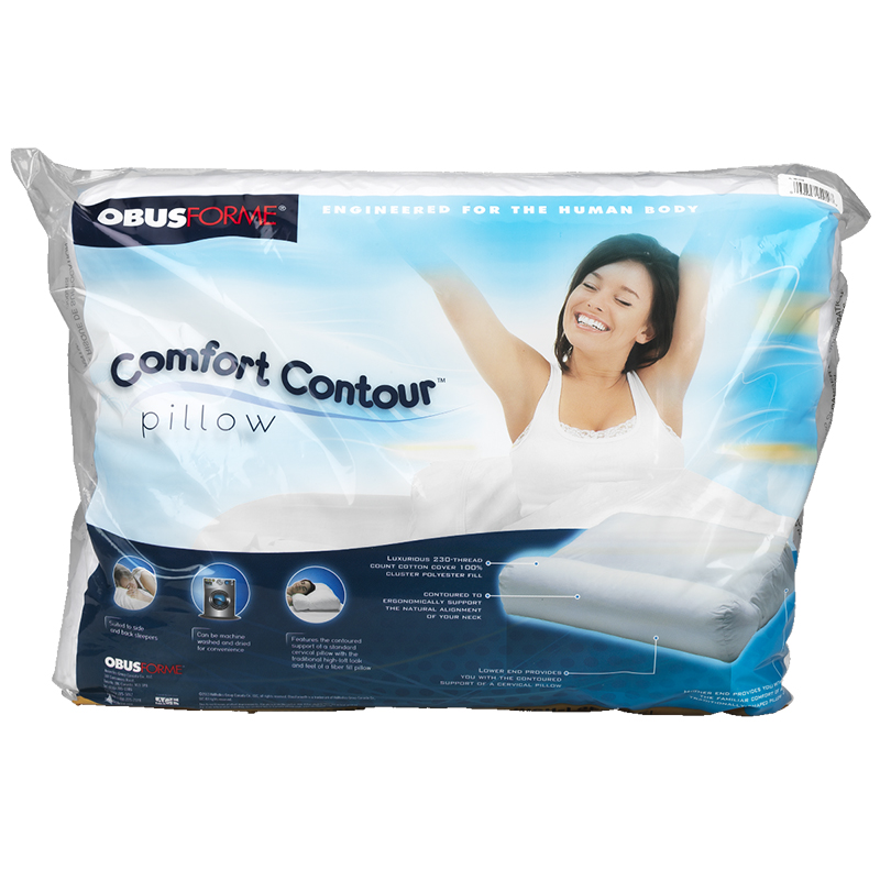 ObusForme Super Soft Contoured Pillow - PL-IRA-ST