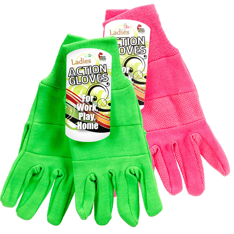 Action Gloves - Ladies - Assorted