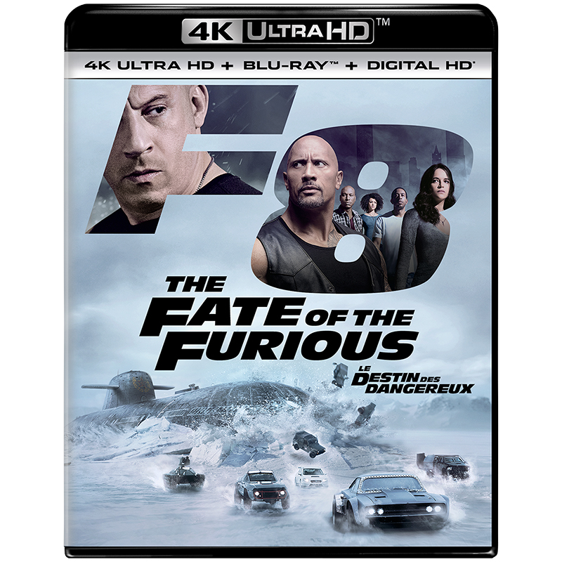 The Fate of the Furious - 4K UHD Blu-ray