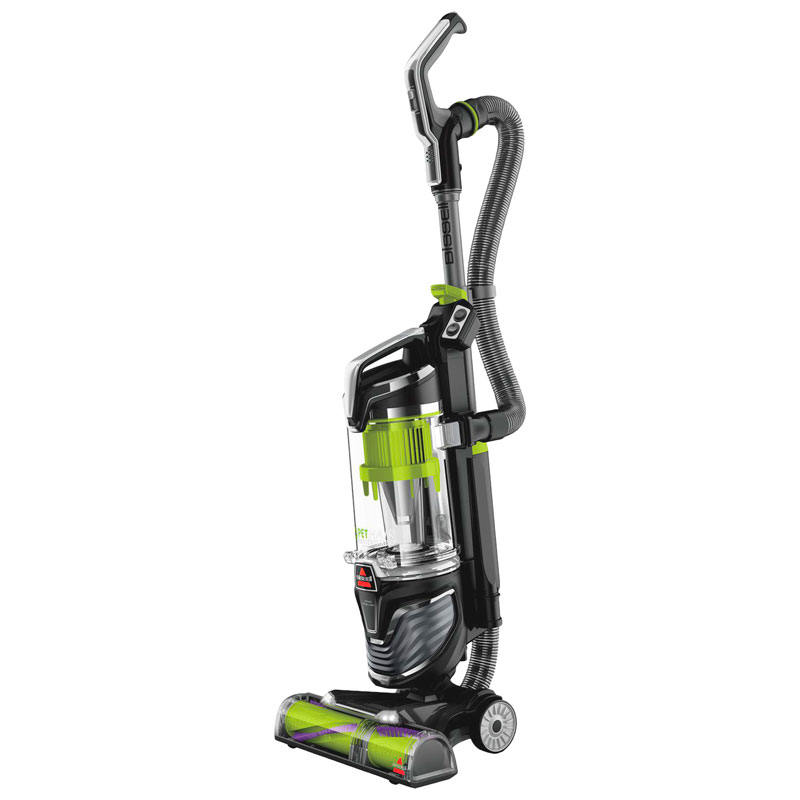 Bissell Pet Hair Eraser Turbo Upright Vacuum - Silver/Green - 2475C