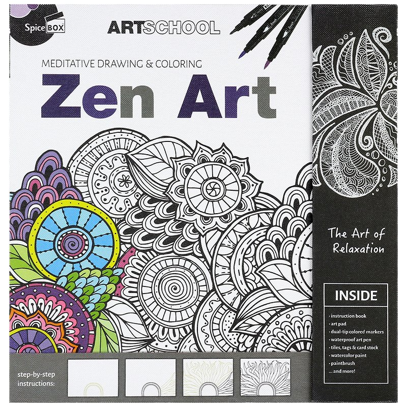 Spicebox Art School - Zen Art