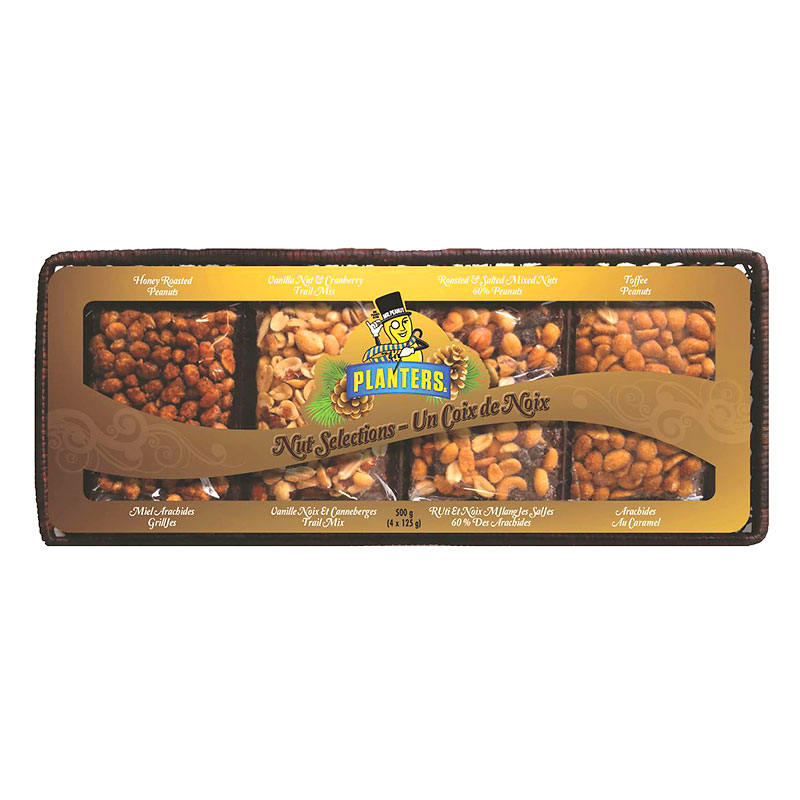 Planters Nut Selections Hostess Basket - 500g