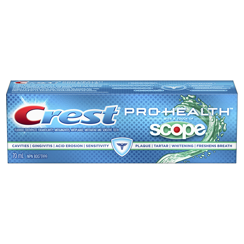 Crest Pro-Health with a Touch of Scope - 70ml