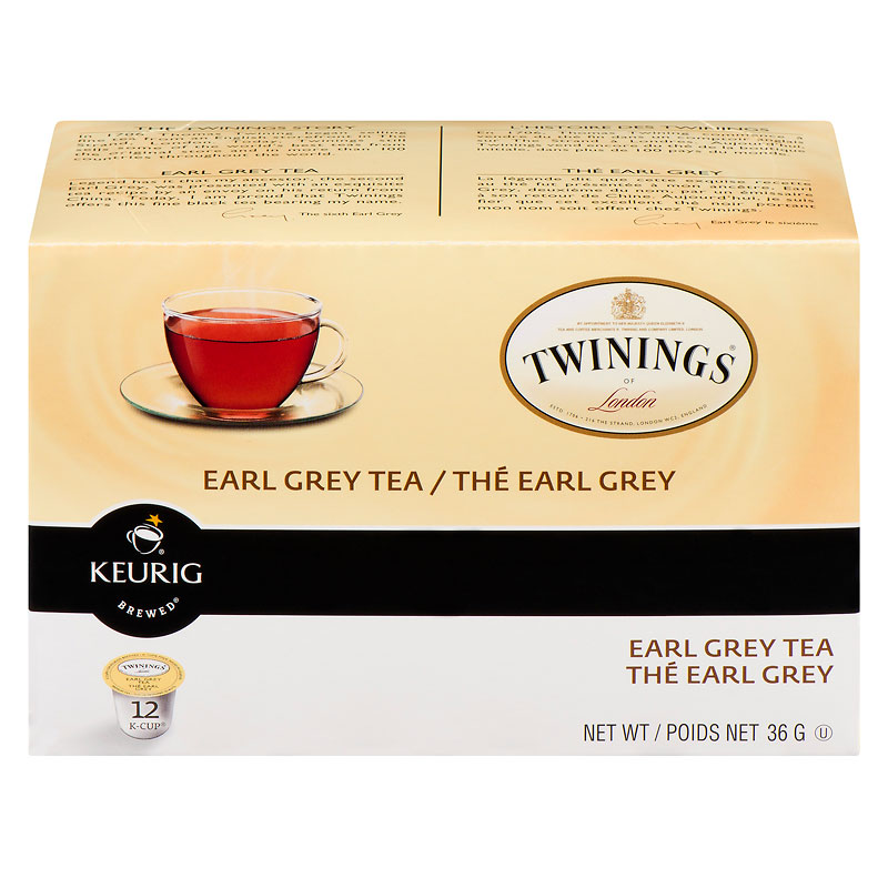 K-Cup Twinings Tea - Earl Grey - 12 Servings