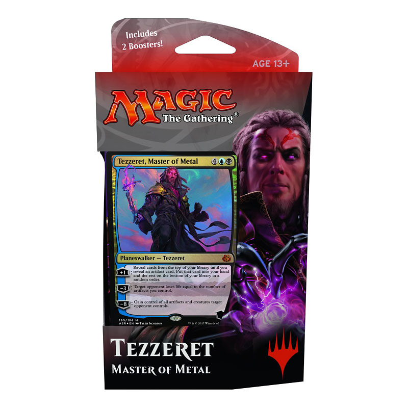 Magic The Gathering Aether Revolt Tezzeret Deck - Assorted