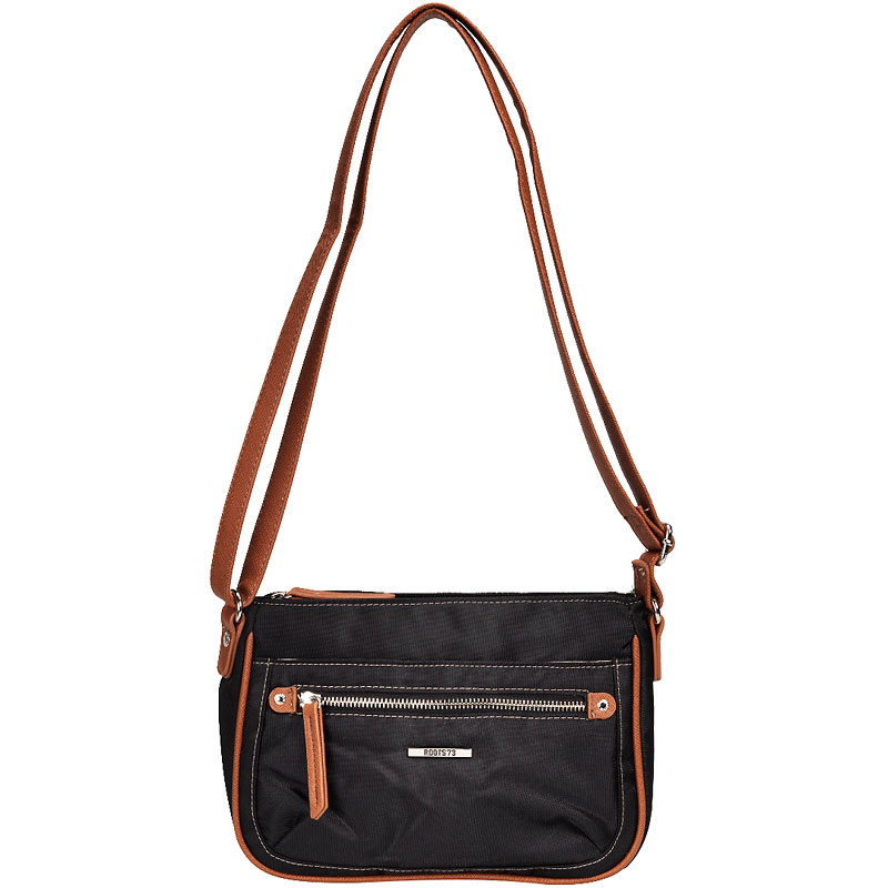 Roots Crossbody with Zipper Front Pocket - Assorted